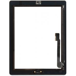 iPad 3 Touchscreen Glas Digitizer Schwarz Vormontiert (A1416, A1430, A1403)