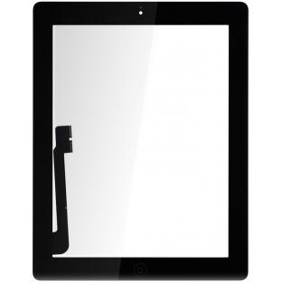 iPad 4 Touchscreen Glas Digitizer Schwarz Vormontiert