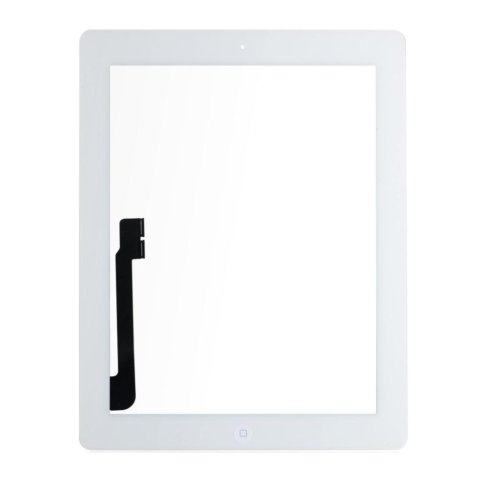 iPad 4 Touchscreen Glas Digitizer OEM Weiss Vormontiert