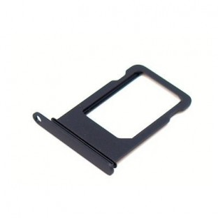 iPhone 7 Plus Sim Tray Karten Schlitten Adapter Schwarz (A1661, A1784, A1785, A1786)