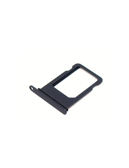iPhone 7 Plus Sim Tray Karten Schlitten Adapter Schwarz