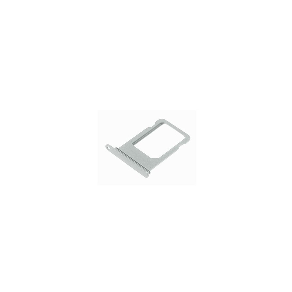 iPhone 7 Plus Sim Tray Karten Schlitten Adapter Silber