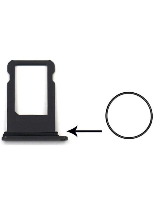iPhone 7 / 7 Plus Gummi Dichtung für Sim Tray Karten Schlitten Adapter