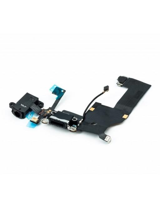 iPhone 5C Ladebuchse / Lightning Connector Schwarz