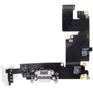 iPhone 6 Plus Lightning Connector Weiss (A1522, A1524, A1593)