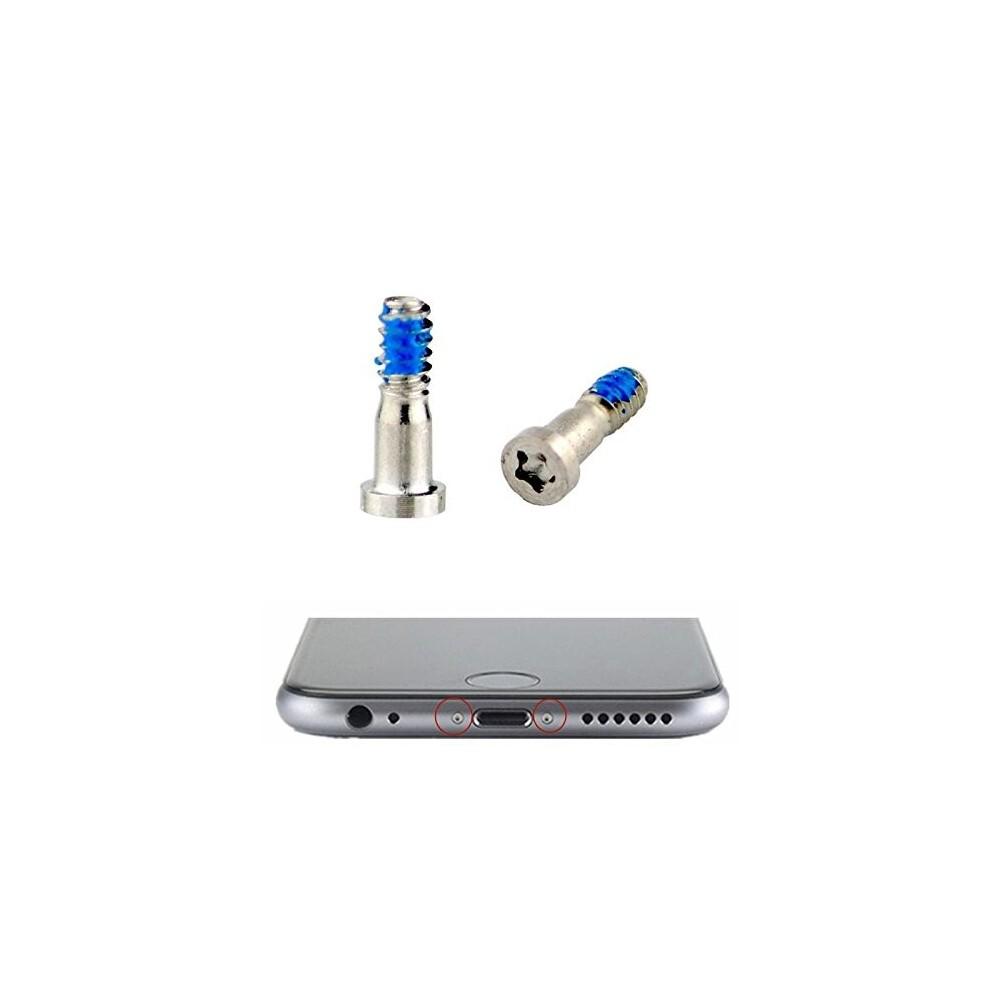 2 x iPhone 6S Plus / 6S / 6 Plus / 6 Pentalobe Schrauben Weiss für LCD Display
