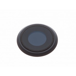 iPhone 8 Kamera Linse für Gehäuse Backcover Schwarz (A1863, A1905, A1906)