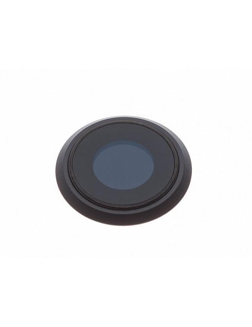 iPhone 8 Kamera Linse für Gehäuse Backcover Schwarz