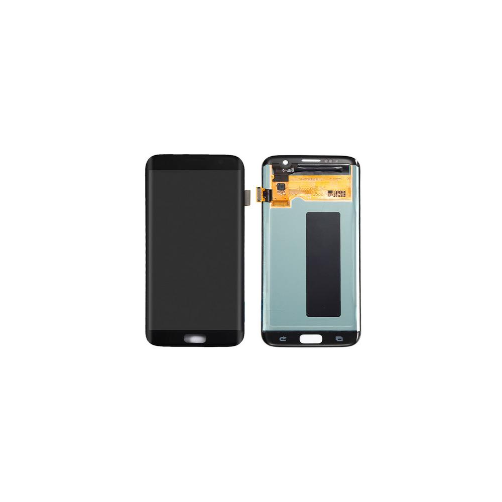 Samsung Galaxy S7 Edge LCD Digitizer Front Ersatzdisplay Schwarz