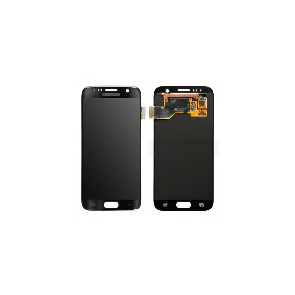 Samsung Galaxy S7 LCD Digitizer Front Ersatzdisplay Schwarz