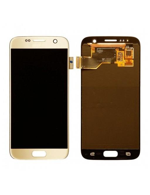 Samsung Galaxy S7 LCD Digitizer Front Ersatzdisplay Gold