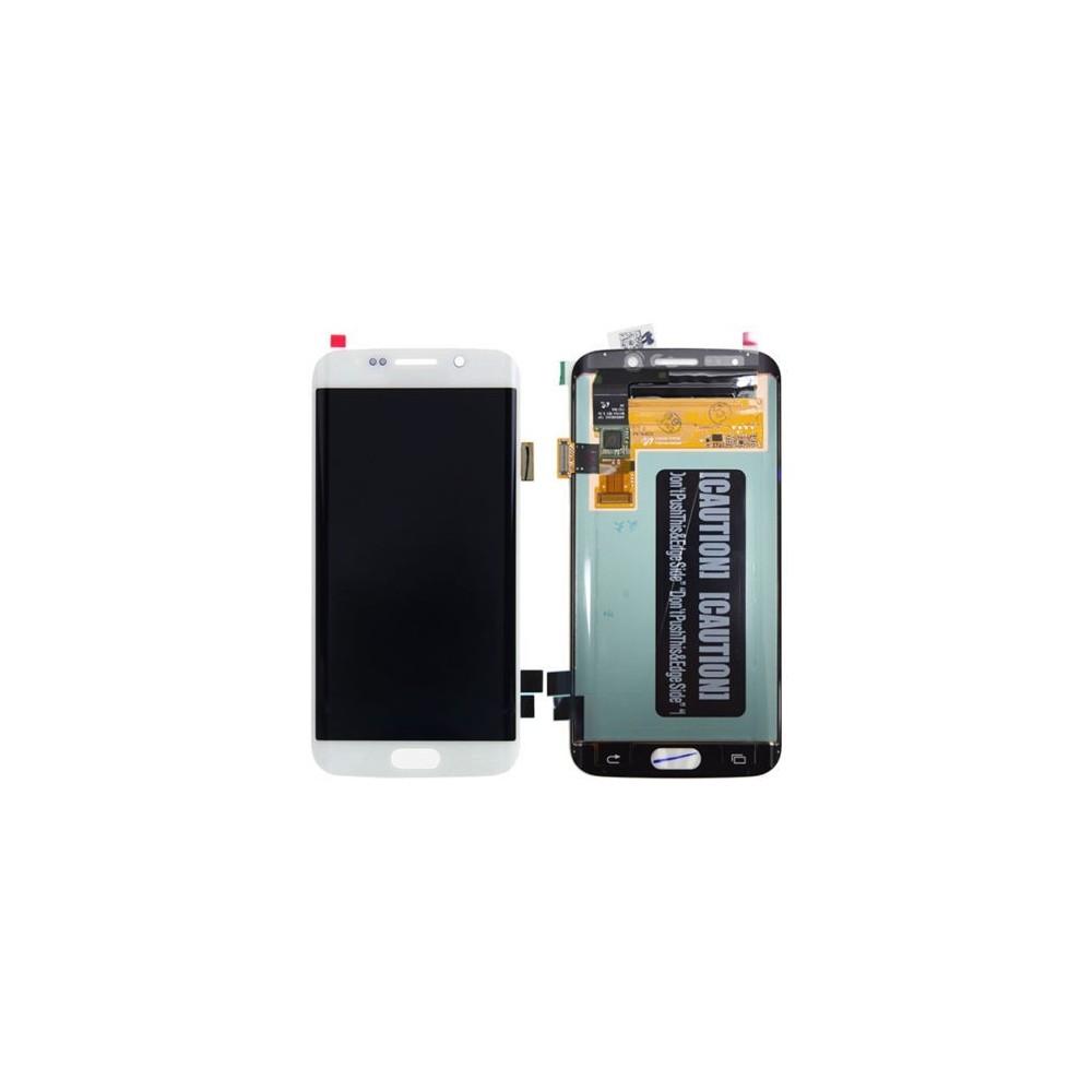 Samsung Galaxy S6 Edge Plus LCD Digitizer Front Ersatzdisplay Weiss