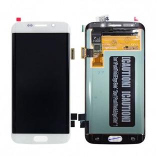 Samsung Galaxy S6 Edge LCD Ersatzdisplay OEM Weiss