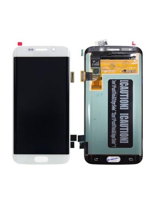 Samsung Galaxy S6 Edge LCD Digitizer Front Ersatzdisplay Weiss