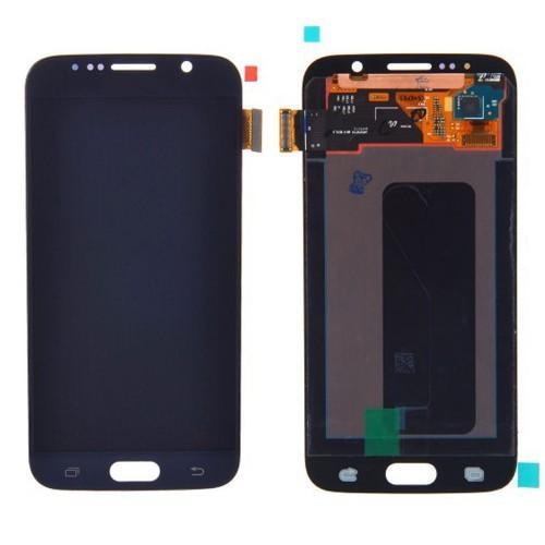 Samsung Galaxy S6 LCD Ersatzdisplay OEM Dunkelblau