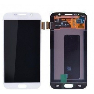 Samsung Galaxy S6 LCD Digitizer Front Replacement Display White