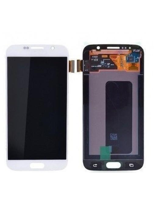 Samsung Galaxy S6 LCD Digitizer Front Ersatzdisplay Weiss