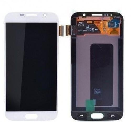 Samsung Galaxy S6 LCD Ersatzdisplay OEM Weiss