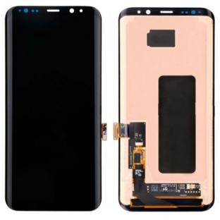 Samsung Galaxy S8 LCD Digitizer Front Ersatzdisplay OEM Schwarz