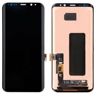 Samsung Galaxy S8 LCD Ersatzdisplay OEM Schwarz