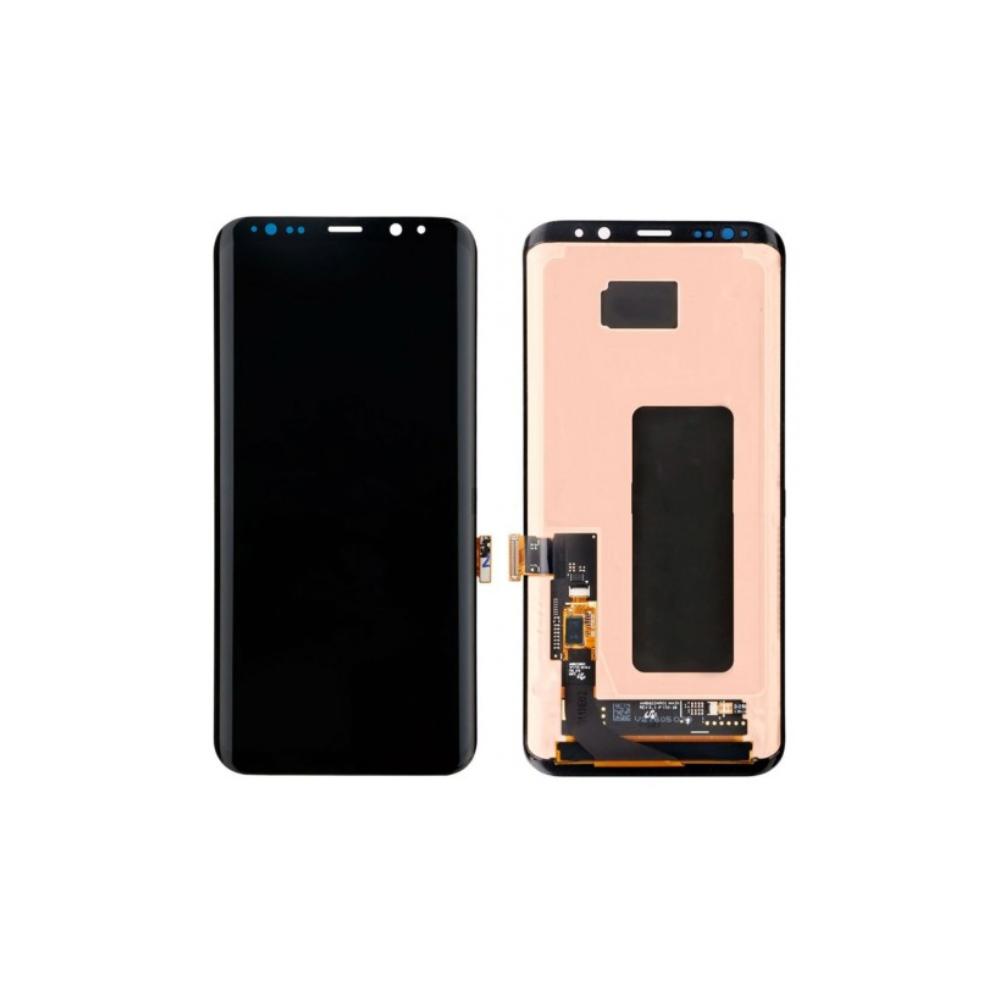 Samsung Galaxy S8 Plus LCD Digitizer Front Ersatzdisplay Schwarz