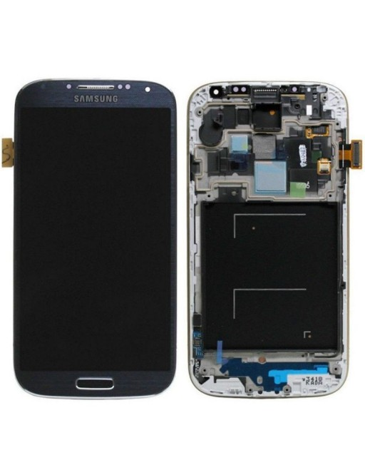 Samsung Galaxy S4 LCD Digitizer Front Ersatzdisplay + Gehäuse Schwarz