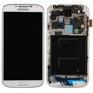 Samsung Galaxy S4 Mini LCD Digitizer Front Ersatzdisplay + Gehäuse OEM Weiss