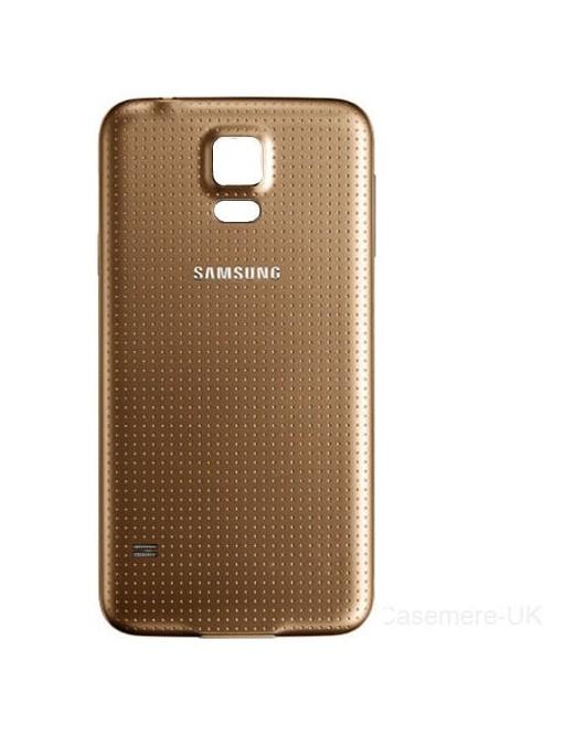 Samsung Galaxy S5 Backcover Rückschale Gold
