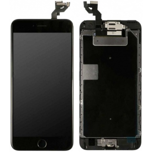 iPhone 6S Plus LCD Digitizer Rahmen Komplettdisplay OEM Schwarz Vormontiert