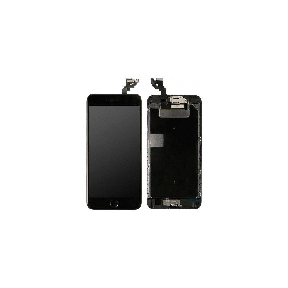 iPhone 6S Plus LCD Digitizer Rahmen Komplettdisplay Schwarz Vormontiert