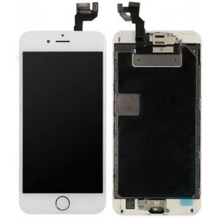 cadre complet du numériseur LCD de l'écran de l'iPhone 6S Plus blanc préassemblé (A1634, A1687, A1690, A1699)