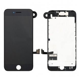 iPhone 7 Plus LCD Digitizer Rahmen Ersatzdisplay OEM Schwarz Vormontiert