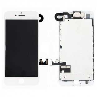 iPhone 7 Plus LCD Digitizer Frame Complete Display White Pre-Assembled (A1661, A1784, A1785, A1786)