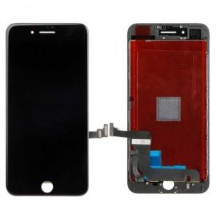 iPhone 7 Plus LCD Digitizer Rahmen Ersatzdisplay Schwarz (A1661, A1784, A1785, A1786)