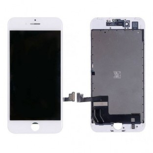 iPhone 7 LCD Digitizer Rahmen Ersatzdisplay OEM Weiss