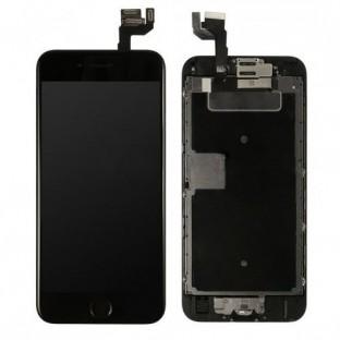 cadre complet du numériseur LCD de l'écran de l'iPhone 6S noir pré-assemblé (A1633, A1688, A1691, A1700)