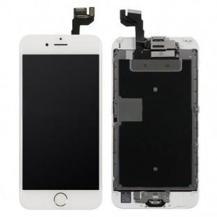 iPhone 6S LCD Ersatzdisplay OEM Weiss Vormontiert