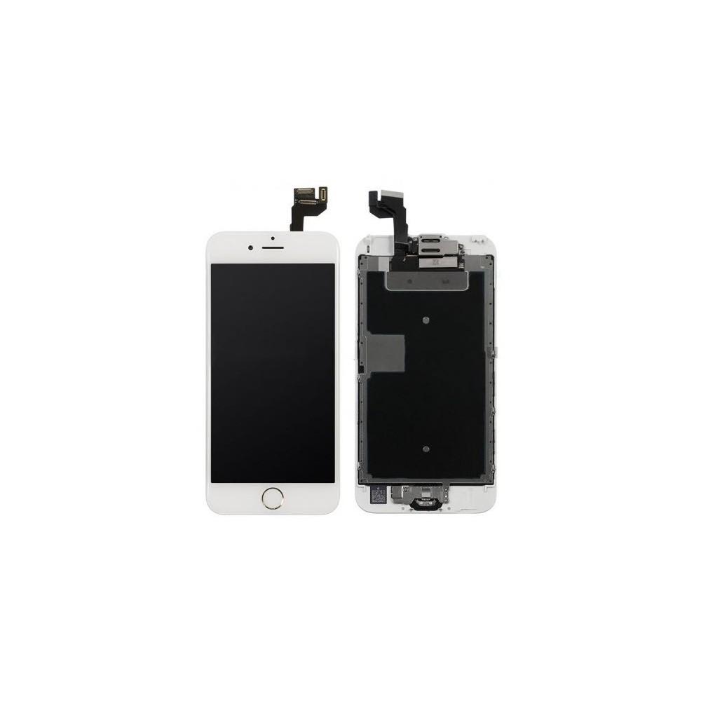 iPhone 6S LCD Digitizer Rahmen Ersatzdisplay OEM Weiss Vormontiert