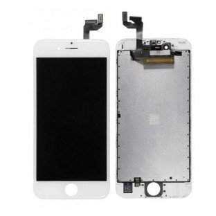 iPhone 6S LCD Digitizer Frame Replacement Blanc (A1633, A1688, A1691, A1700)