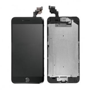 iPhone 6 Plus LCD Digitizer Rahmen Ersatzdisplay OEM Schwarz Vormontiert