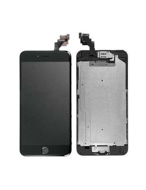 iPhone 6 Plus LCD Digitizer Rahmen Komplettdisplay Schwarz Vormontiert
