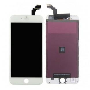 iPhone 6 Plus LCD Digitizer Rahmen Ersatzdisplay Weiss (A1522, A1524, A1593)