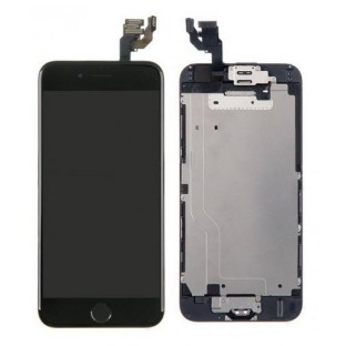 iPhone 6 LCD Digitizer Rahmen Ersatzdisplay OEM Schwarz Vormontiert