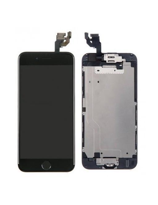 cadre complet de l'écran LCD digital de l'iPhone 6 noir pré-assemblé