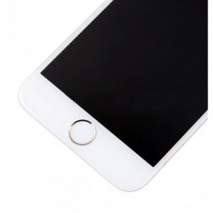 iPhone 6 LCD Digitizer Rahmen Komplettdisplay Weiss vormontiert