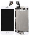iPhone 6 LCD Digitizer Rahmen Ersatzdisplay OEM Weiss Vormontiert