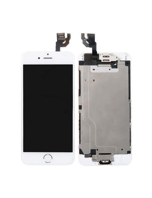 cadre complet d'écran pour iPhone 6 LCD Digitizer Frame White Pré-assemblé