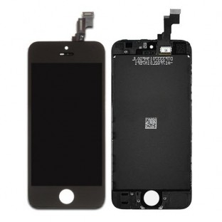 iPhone SE / 5S LCD Digitizer Rahmen Ersatzdisplay Schwarz (A1723, A1662, A1724, A1453, A1457, A1518, A1528, A1530, A1533)
