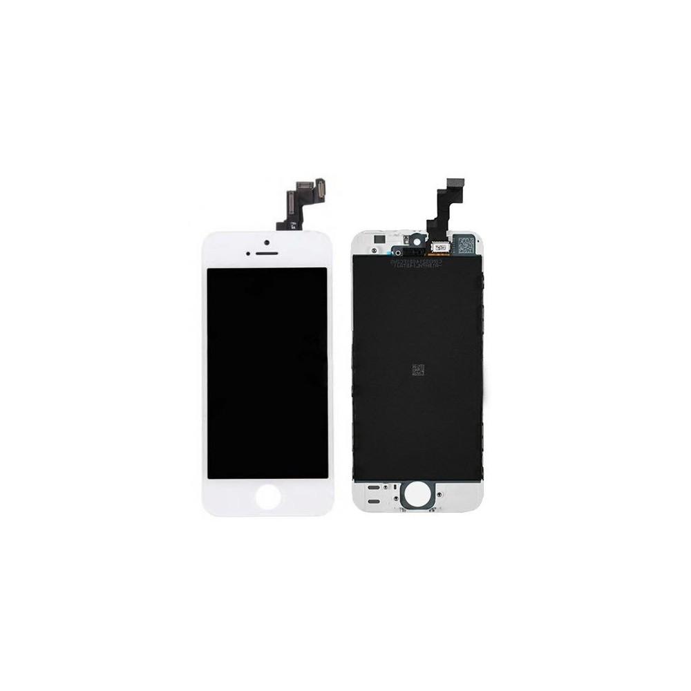 iPhone SE LCD Digitizer Rahmen Ersatzdisplay Weiss