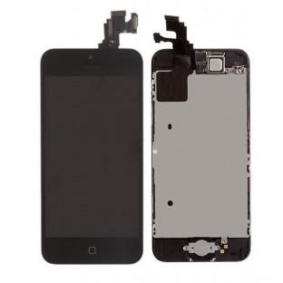 iPhone 5C LCD Digitizer Rahmen Ersatzdisplay Schwarz Vormontiert